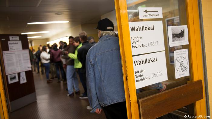 Berlin polling station