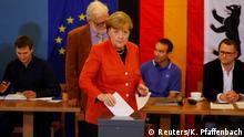 Bundestagswahl 2017 | Stimmabgabe Angela Merkel, Bundeskanzlerin