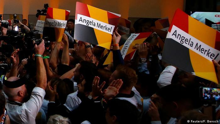 Simpatizantes da CDU em Berlim