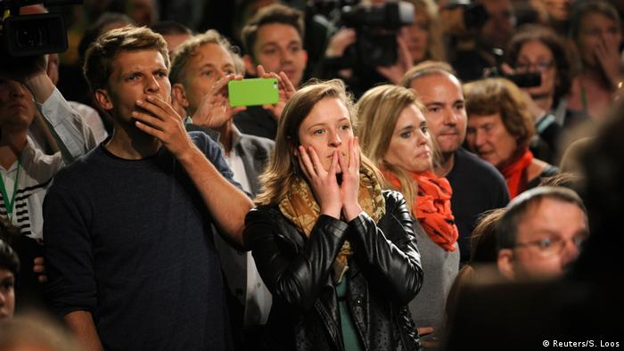 Bundestagswahl 2017   Die Grünen - Anhänger in Berlin (Reuters/S. Loos)