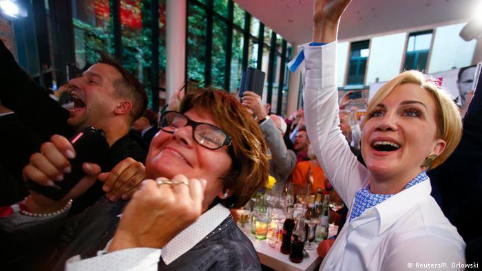 Bundestagswahl 2017   FDP - Anhänger in Berlin