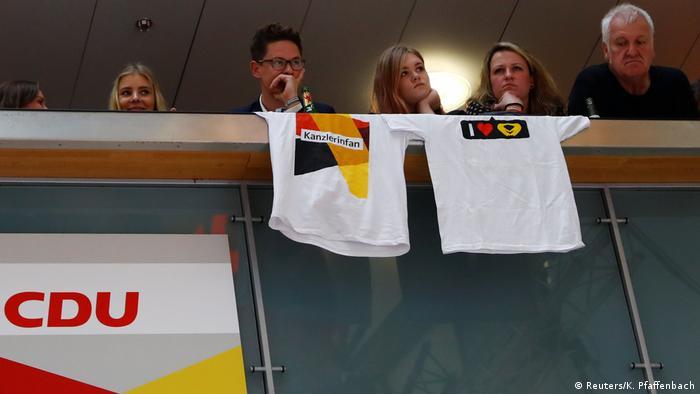 Bundestagswahl 2017   CDU - Anhänger in Berlin (Reuters/K. Pfaffenbach)
