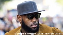 LeBron james (picture-alliance/The Canadian Press/N. Denette)