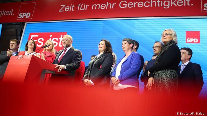 Bundestagswahl 2017 | SPD - Martin Schulz & SPD-Spitze (Reuters/M. Dalder)
