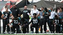 American Football Jacksonville Jaguars Players in London
