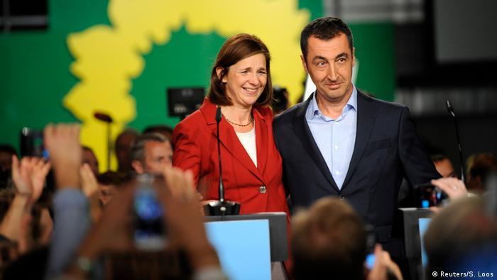 Bundestagswahl 2017 | Die Grünen - Göring-Eckardt & Özdemir (Reuters/S. Loos)
