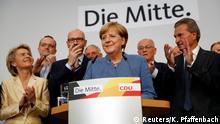 Bundestagswahl 2017   CDU - Angela Merkel, Bundeskanzlerin