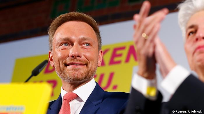 Bundestagswahl 2017 | FDP - Christian Lindner, Bundesvorsitzender (Reuters/R. Orlowski)