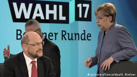 Deutschland Bundestagswahl | Elefantenrunde (picture-alliance/dpa/G. Breloer)