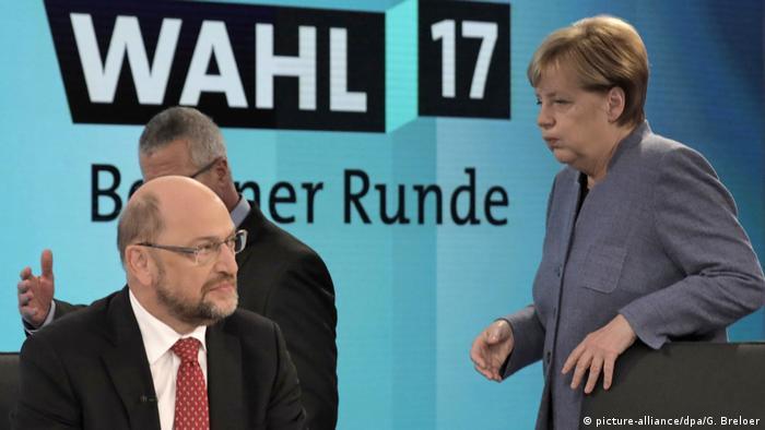 Schulz e Merkel