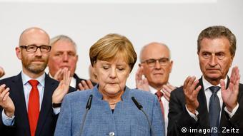 Ангела Меркель с представителями ХДС