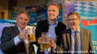AfD - Bystron, Biedermann and Otten (picture alliance/dpa/M. Balk)