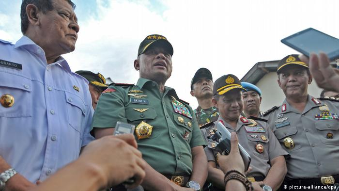 Indonesien Generalstabchef Gatot Nurmantyo (picture-alliance/dpa)