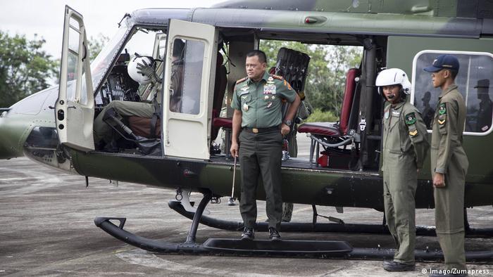 Indonesien Generalstabchef Gatot Nurmantyo in Banda Aceh (Imago/Zumapress)
