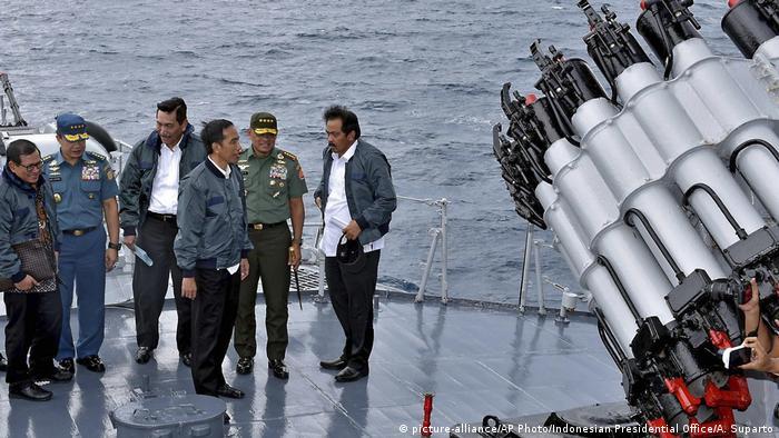 Indonesien Generalstabchef Gatot Nurmantyo (picture-alliance/AP Photo/Indonesian Presidential Office/A. Suparto)