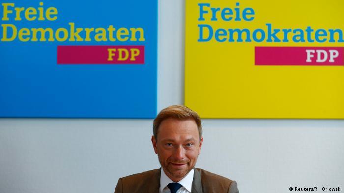 Deutschland Bundestagswahl FDP Lindner (Reuters/R. Orlowski)