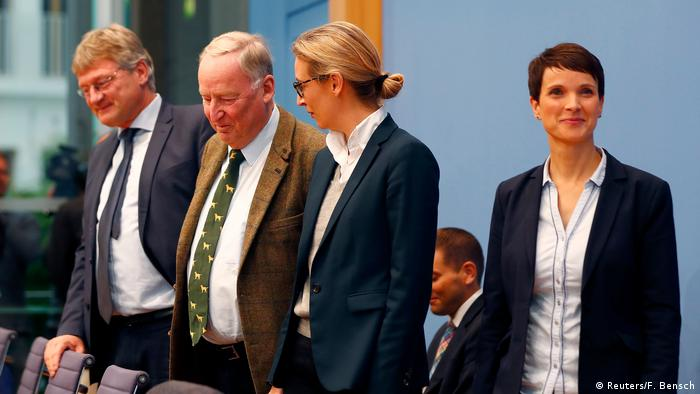 Deutschland PK AfD (Reuters/F. Bensch)