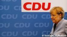 Deutschland Bundestagswahl CDU Merkel PK
