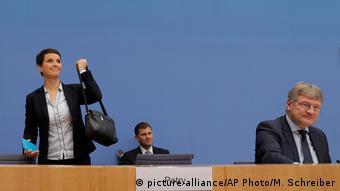 Petry anunciou que não pretende participar da bancada da Afd no Bundestag