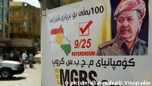 Irak Unabhängigkeitsreferendum der Kurden