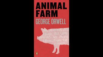 Buchcover Animal Farm / Farm der Tierevon George Orwell