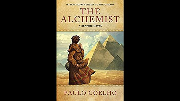 Book cover of The Alchemist by Paulo Coelho
