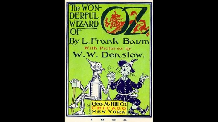 Book cover of The Wonderful Wizard of Oz by L. Frank Baum