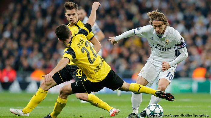 Fußball Champions League Real Madrid - BVB (picture-alliance/augenklick/firo Sportphoto)