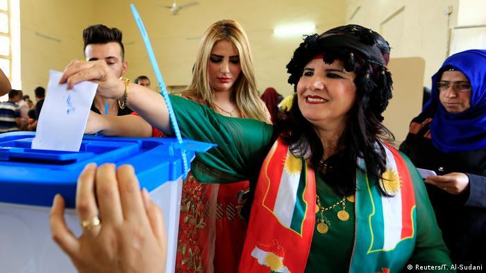Irak Kurden stimmen über Unabhängigkeit ab (Reuters/T. Al-Sudani)