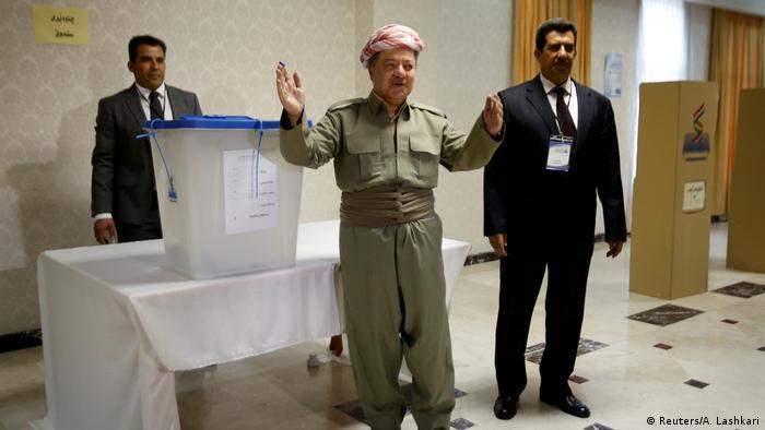 Irak Kurden stimmen über Unabhängigkeit ab (Reuters/A. Lashkari)
