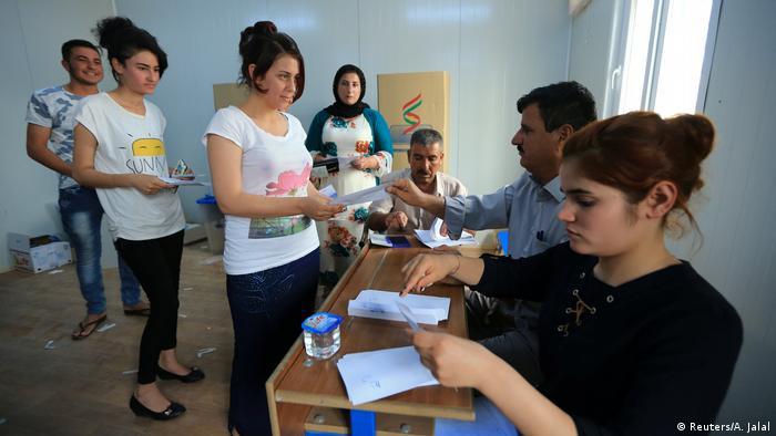 Irak Kurden stimmen über Unabhängigkeit ab (Reuters/A. Jalal)