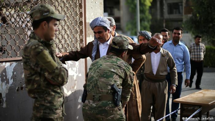 Irak Kurden stimmen über Unabhängigkeit ab (Reuters/A. Jadallah)