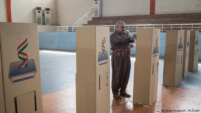 Irak Kurden stimmen über Unabhängigkeit ab (Getty Images/C. McGrath)