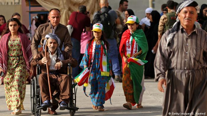 Irak Kurden stimmen über Unabhängigkeit ab (Getty Images/S. Hamed)