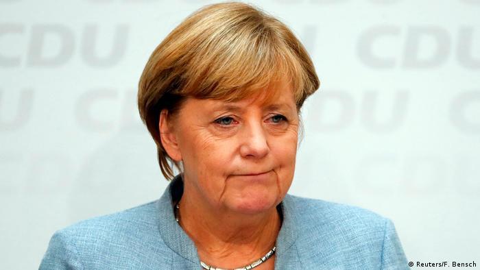 Deutschland Bundestagswahl Merkel PK (Reuters/F. Bensch)
