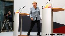 Deutschland Bundestagswahl Merkel PK