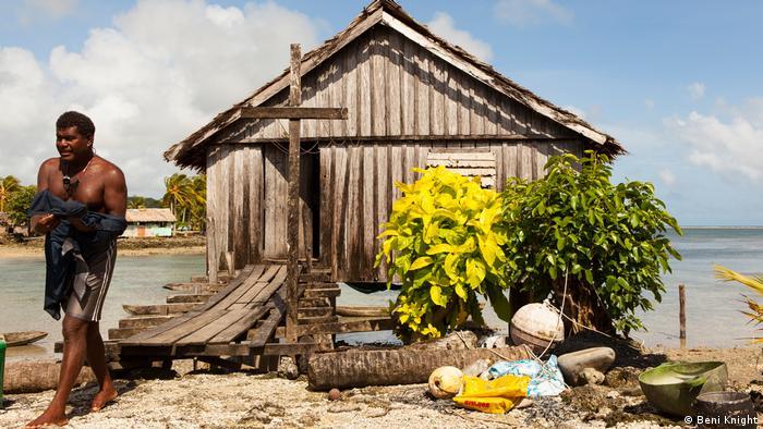 Solomon Islands - chapel in Lau Lagoon