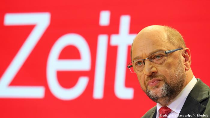 SPD party chairman Martin Schulz (picture-alliance/dpa/K. Nietfeld)