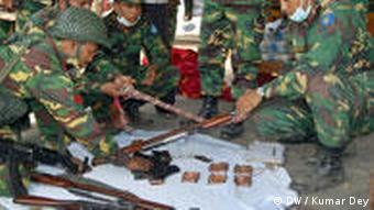 Bangladesh verschwundene Offiziere nach Meuterei