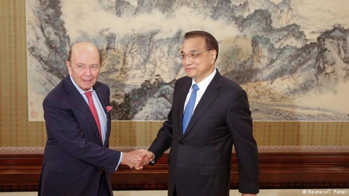 China US-Handelsminister Wilbur Ross zu Besuch (Reuters/T. Peter)