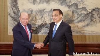 China US-Handelsminister Wilbur Ross zu Besuch (Reuters/T. Peter)