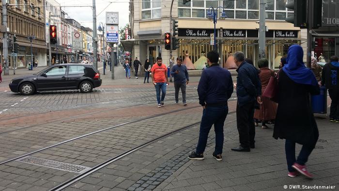 Дуисбург-Марксло е квартал с висок процент чужденци