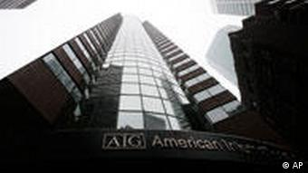 AIG Bürogebäude in New York (Quelle: AP)