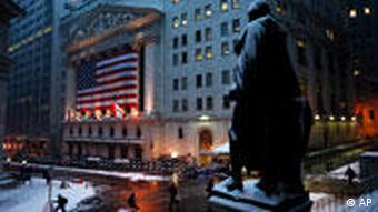 Wall Street nach Absturz von American International Group