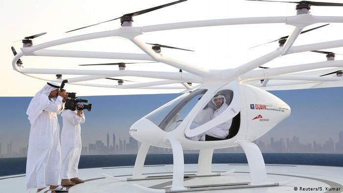 VAE Volocopter in Dubai (Reuters/S. Kumar)