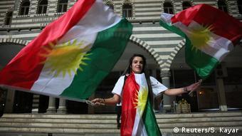 Türkei Kurden feiern Referendum (Reuters/S. Kayar)