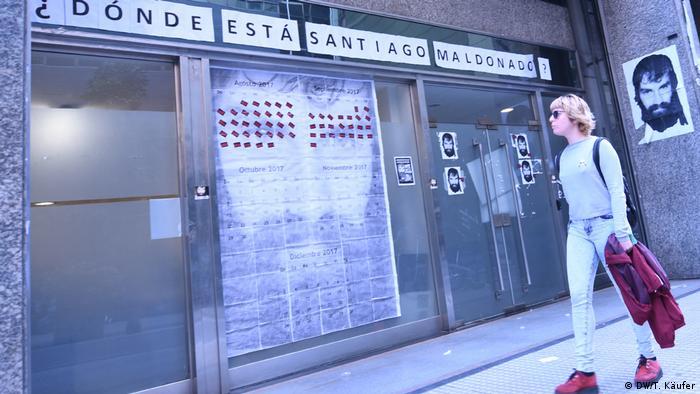 Argentinien Suche nach Santiago Maldonado