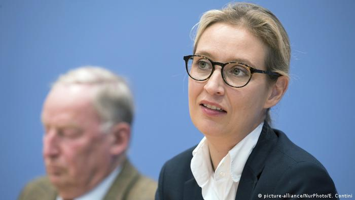 Deutschland AfD Alice Weidel (picture-alliance/NurPhoto/E. Contini)