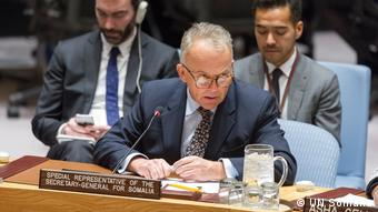 Michael Keating, UN-Sondergesandter für Somalia