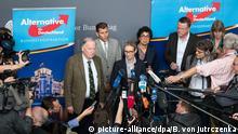 Deutschland AfD Alice Weidel und Alexander Gauland